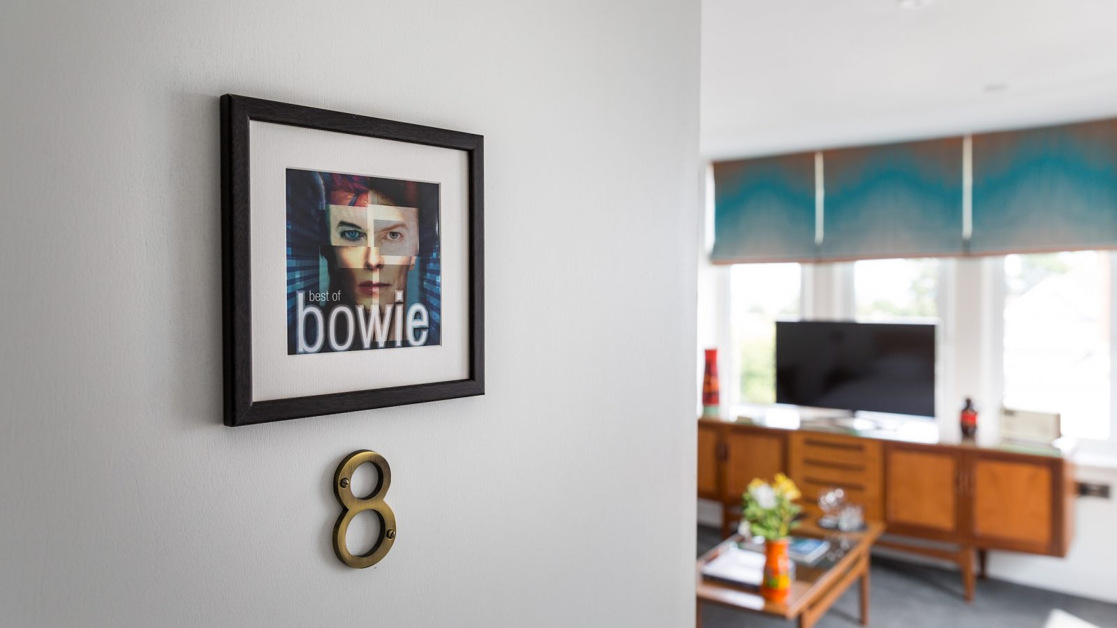 David Bowie executive king room on 2nd floor with triple aspect views and private balcony