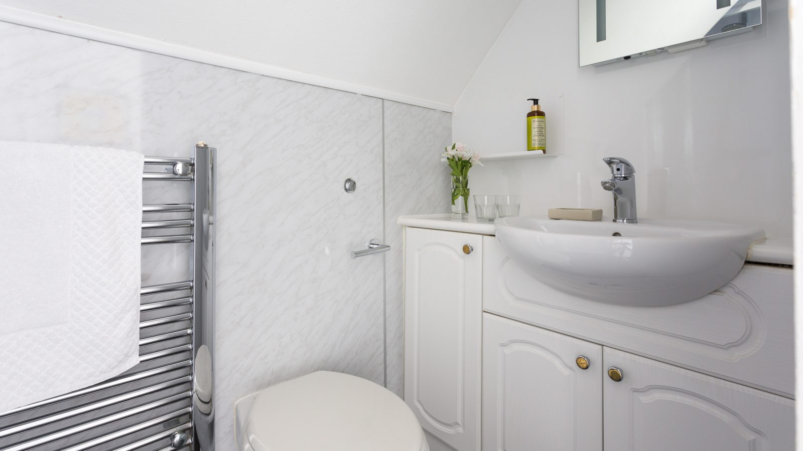 Superior double room with modest ensuite